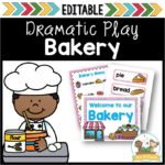 Dramatic Play Bakery for Preschool