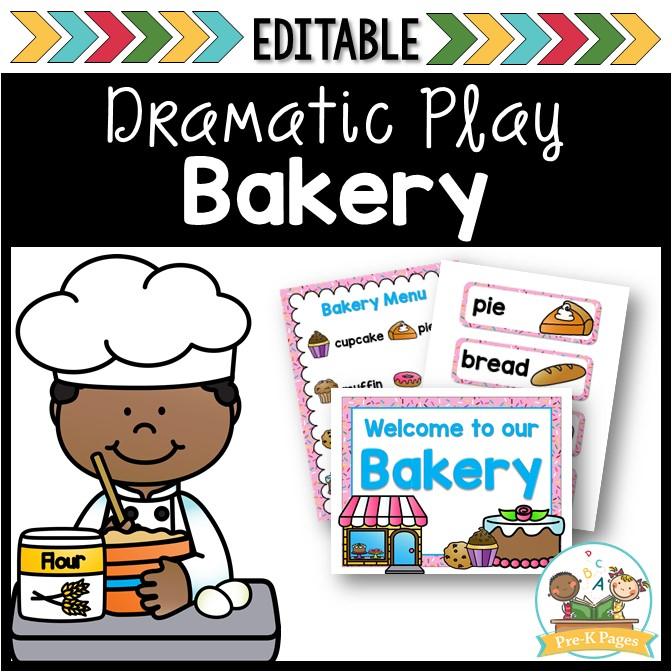 Dramatic Play Bakery for Preschool