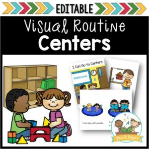 Center Visual Routine