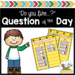 Question of the Day for Preschoolers