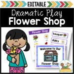 Flower Shop Dramatic Play Center for Preschool