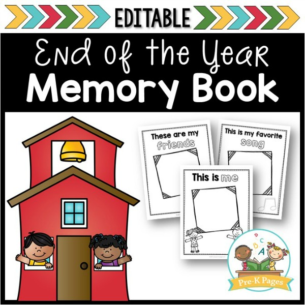 image regarding Free Printable Memory Book Pages named Memory Reserve - Pre-K Webpages