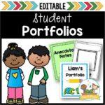 Preschool Student Portfolios