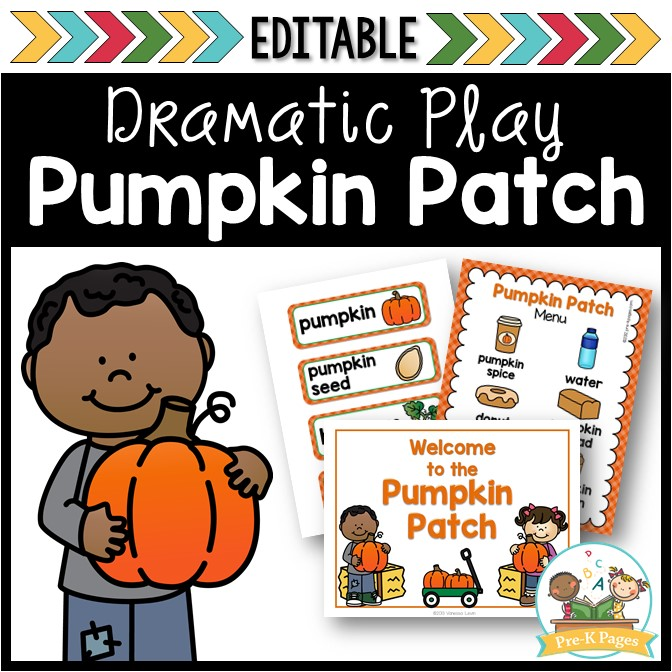 Pumpkin Patch Dramatic Play Center