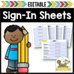 Preschool Sign In Sheets