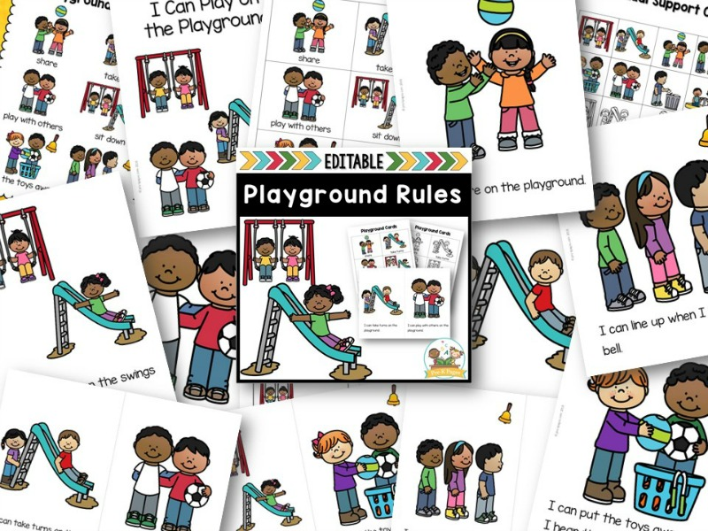 Playground Rules Book