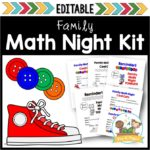 Family Math Night for Preschool