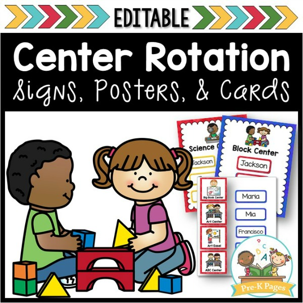 Center Rotation signs posters cards