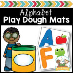 Alphabet Play Doh Mats