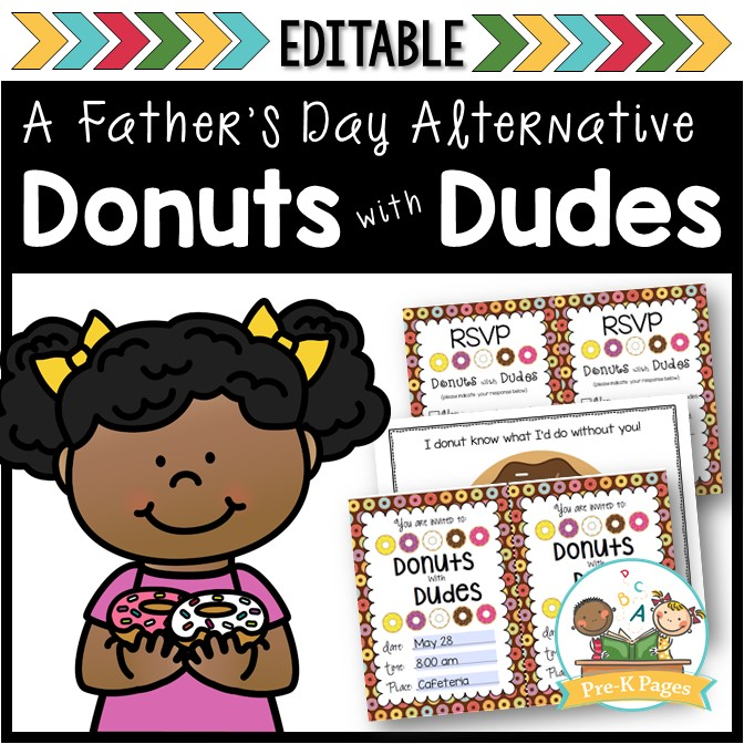 Donuts with Dudes Fathers Day Celebration