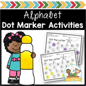 ABC Bingo Dot Marker Activities