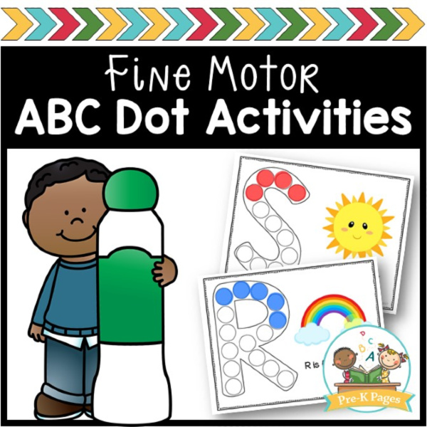 ABC Dot Marker Activities Fine Motor Skills