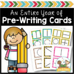 Pre Writing Cards for Preschool