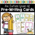 Pre Writing Cards for Preschool