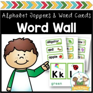 Word Wall Green