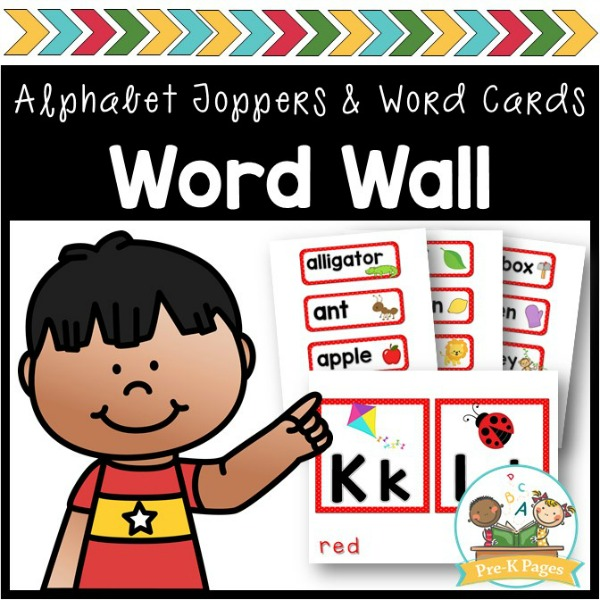 Word Wall for Preschool and PreK