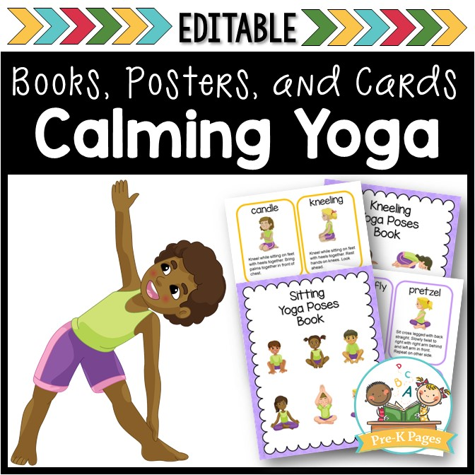 photograph about Printable Yoga Poses for Preschoolers called Yoga within just the Clroom - Pre-K Web pages