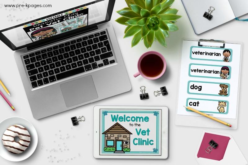 Dramatic Play Pet Vet Kit