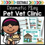 Dramatic Play Vet Clinic