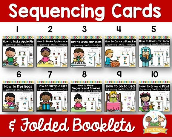 Preschool Sequencing Cards
