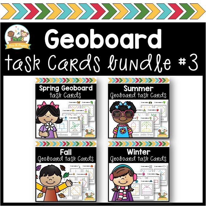Geoboard Seasons Bundle