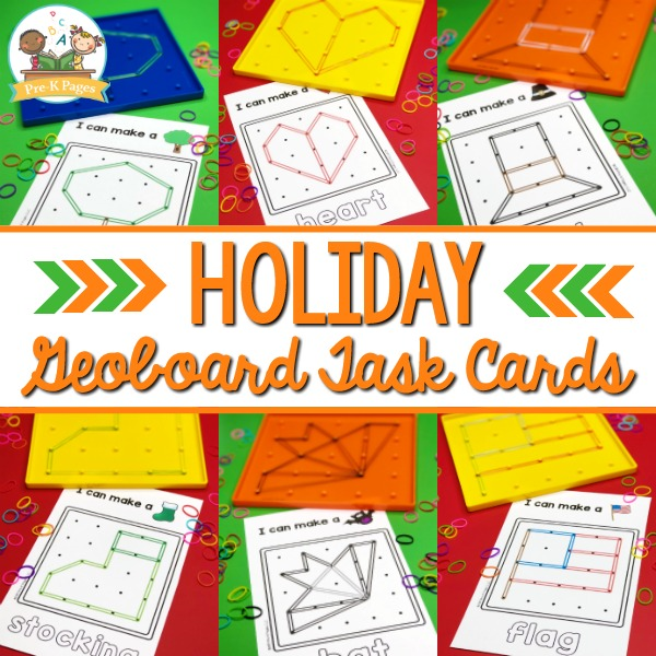 Holiday Geoboard Activities