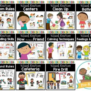 Rules and Routines Classroom Management Bundle