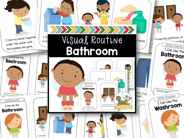 Bathroom Visual Routine Preview