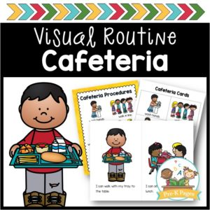 Cafeteria Visual Routine