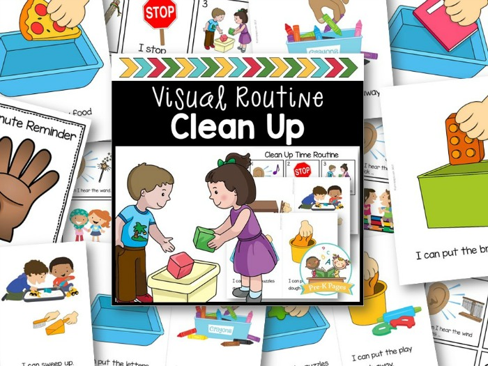 How to teach preschoolers to clean up