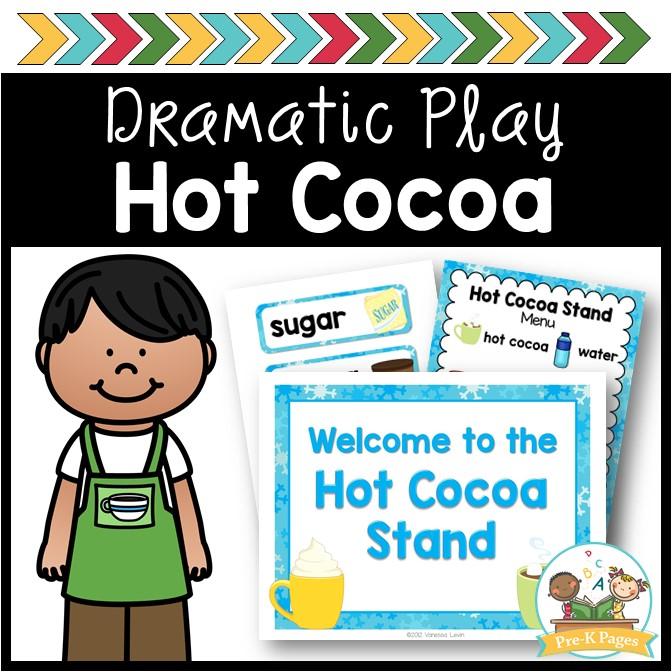 Hot Chocolate Dramatic Play