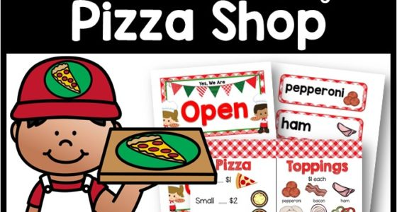 Dramatic Play Pizza Shop