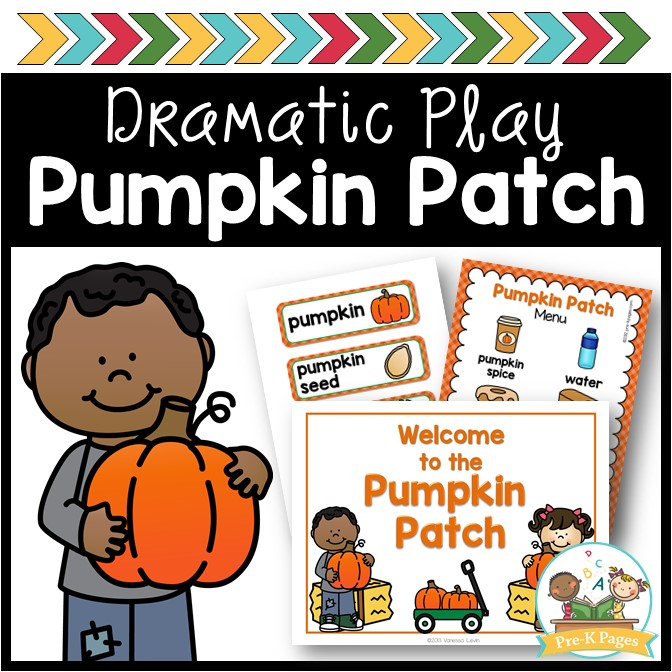 Dramatic Play Pumpkin Patch