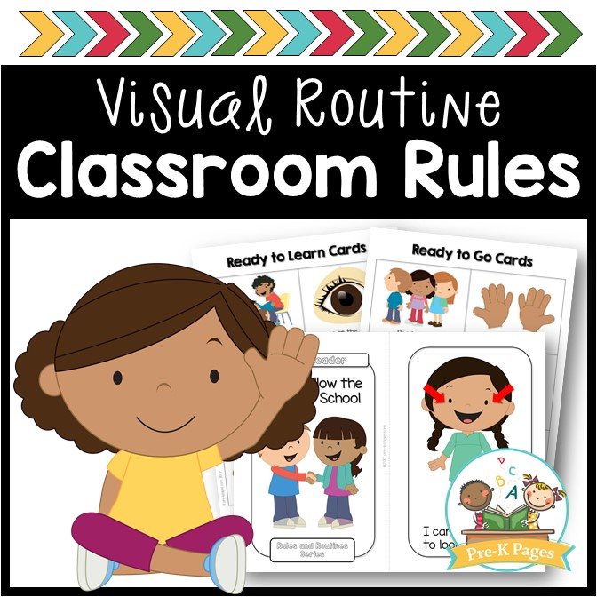 image regarding Classroom Rules Printable called Clroom Legal guidelines - Pre-K Webpages
