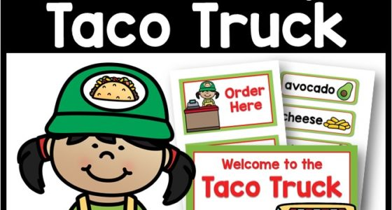 Taco Truck Dramatic Play