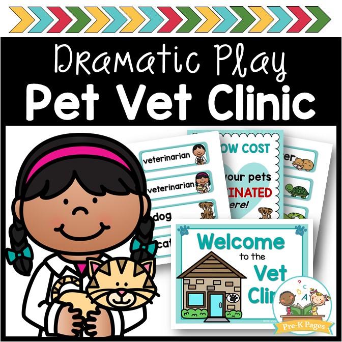 Pet Vet Dramatic Play