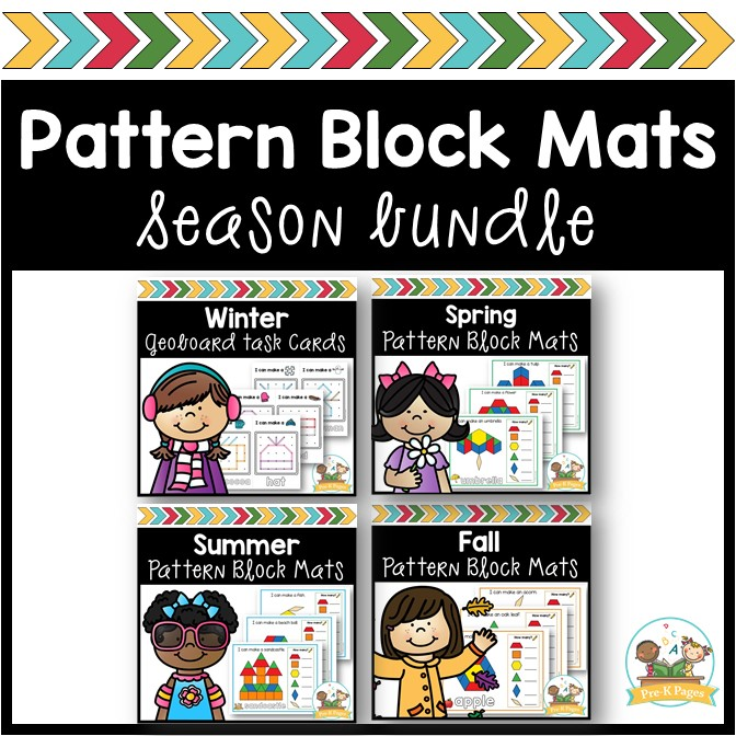 Season Pattern Block Mat Bundle