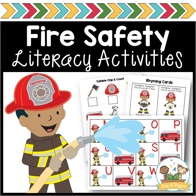 Fire Safety Literacy Activities