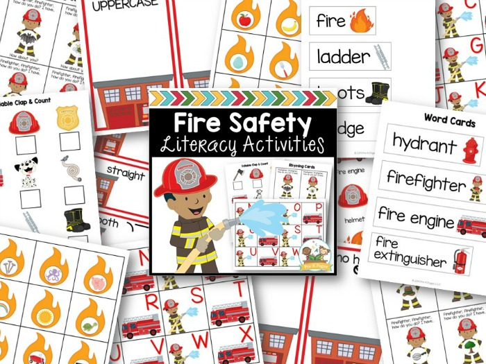 Fire Theme Small Group Literacy Activities