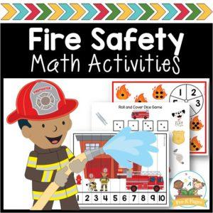 Fire Safety Math Activities
