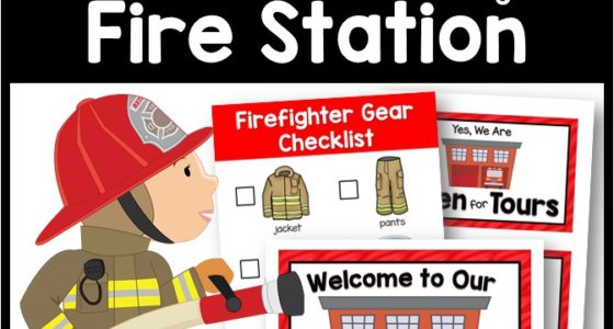 Fire Station Dramatic Play