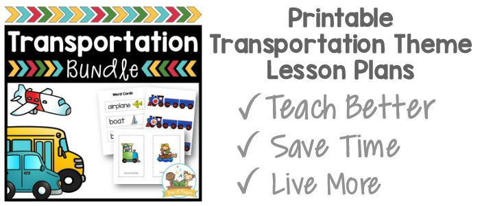 Transportation Play Dough Activity - Pre-K Pages