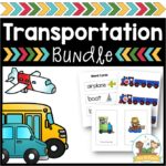 Transportation Activities for Preschool