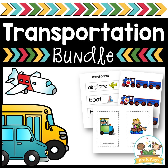 Transportation Activities for Preschool