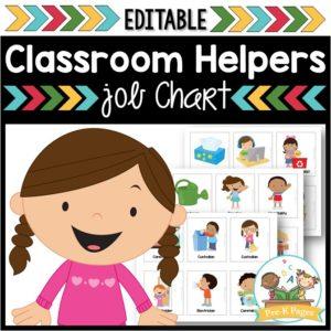 Classroom Helpers Job Kit