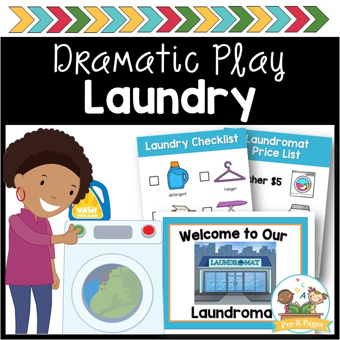 Laundry Dramatic Play Theme