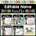 Name Activity Bundle