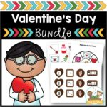Valentine's Day Activity Bundle for Preschool