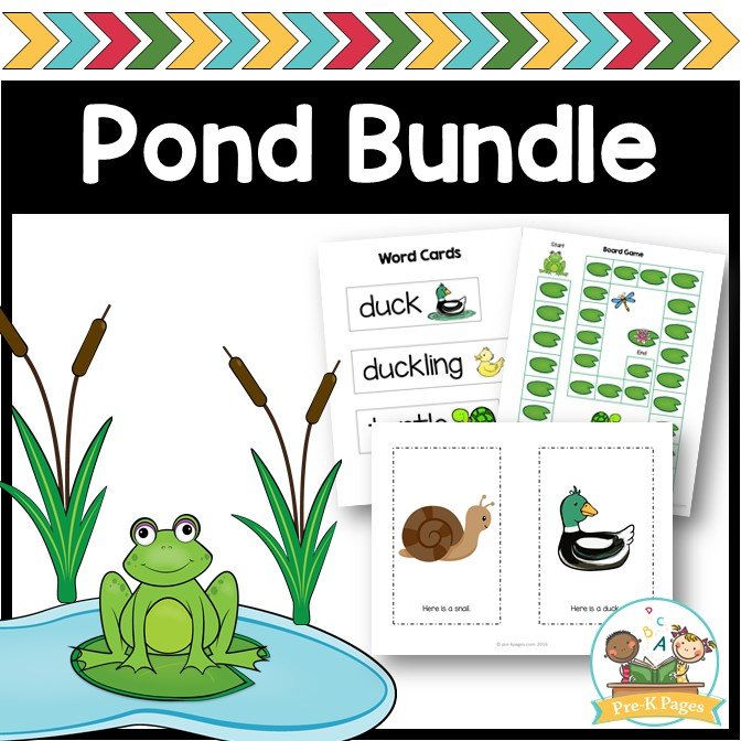 Pond Theme Activities for Preschool