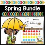 Spring Theme Bundle for Preschool